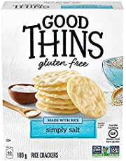 Good Thins Gluten-Free Rice Crackers, Simply Salt, 1 Box