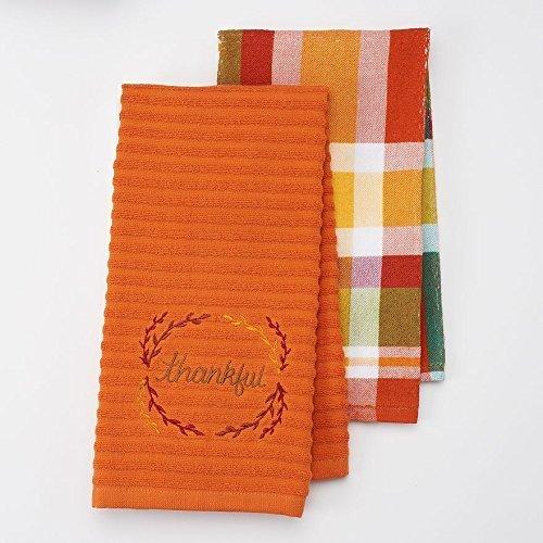Celebrate Fall Together 16.5 X 26 Kitchen Towels Thankful