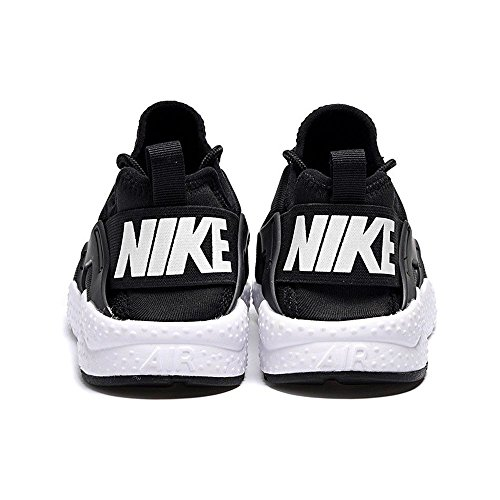 Nike Women's W Air Huarache Run Ultra Fitness Shoes, Black, 6 UK Black White 001
