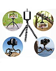Cell Phone Tripod Stand,Flexible Tripod for Mobile Phones and Cameras,with Shutter Remote Control,Mini Tripod,Travel Tripod,Camera Tripod