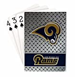 Pro Specialties Group NFL Los Angeles Rams Diamond Plate Playing Cards