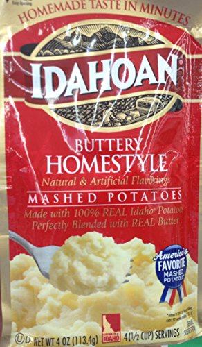 Idahoan Butter Homestyle Mashed Potatoes 4oz. F