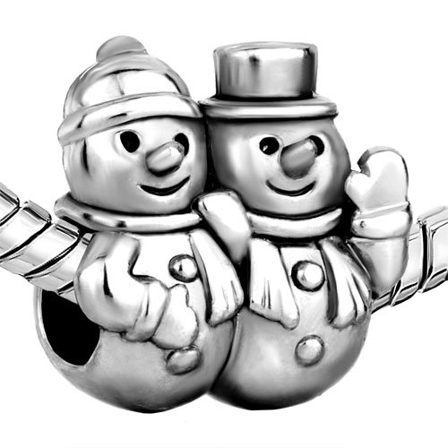 Christmas Gifts Snowman Winter Charm New Sale Cheap Beads