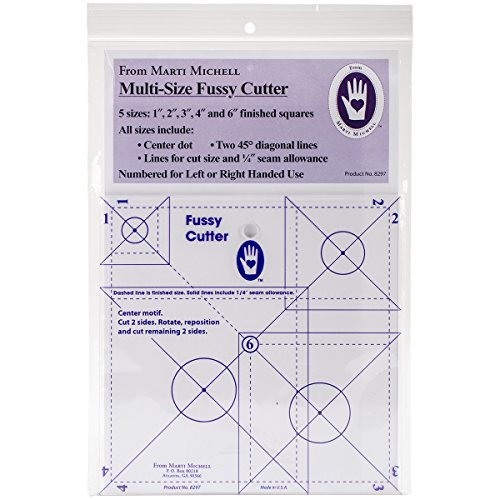 Marti Michell 8297 Multisize Fussy Cutter Ruler by Marti Michell