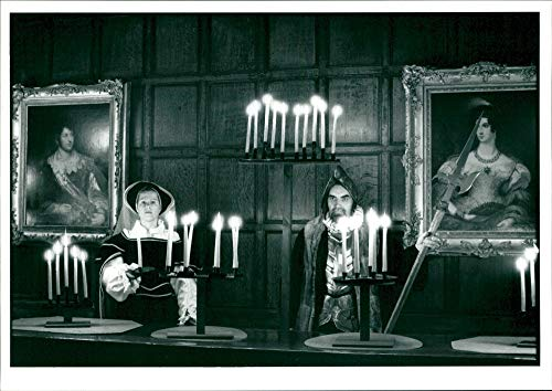 (Vintage photo of Tamworth Castle:)