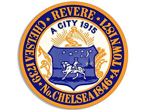 Best buy Revere Beach Chelsea Massachusetts Seal Sticker (decal logo insignia)