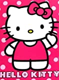 Hello Kitty Royal Plush Raschel Throw