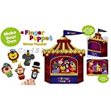 Make Your Own - Finger Puppet Circus Theatre by Ackerman