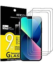 """NEW'C 3 pack, Skärmskydd Med iPhone 13, iPhone 13 Pro (6,1"""") – Härdat Glas HD klar 9H hårdhet bubbelfritt"""