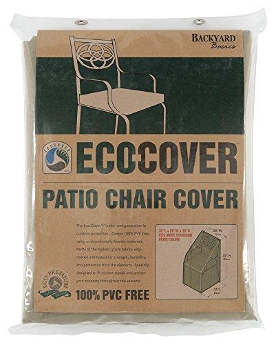 Mr. Bar-B-Q Backyard Basics Eco-Cover PVC Free Premium Patio Chair Cover (Furniture B&q Garden Sale)