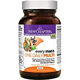 New Chapter Every Man's One Daily, Men's Multivitamin Fermented with Probiotics + Selenium + B Vitamins + Vitamin D3 + Organic Non-GMO Ingredients - 48 ct