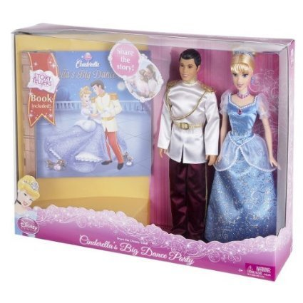 Charming Gift - Disney Princess Cinderella's Big Dance Party Gift Set