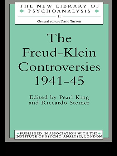 Download The Freud-Klein Controversies 1941-45 (The New Library of Psychoanalysis) Pdf