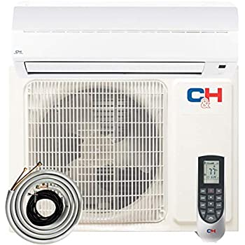 COOPER AND HUNTER Alice 9,000 BTU 230V Mini Split Ductless Air Conditioner Heat Pump 16 SEER with 16ft Installation kit