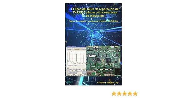 Amazon.com: El libro del taller de reparación de TV LCD y placas vitrocerámicas de inducción: Temas de consulta y ayuda para el técnico electrónico (Spanish ...