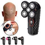 Electric Shaver Bald Head Shaver 5 in 1 Men's Grooming Set Wet/Dry Waterproof