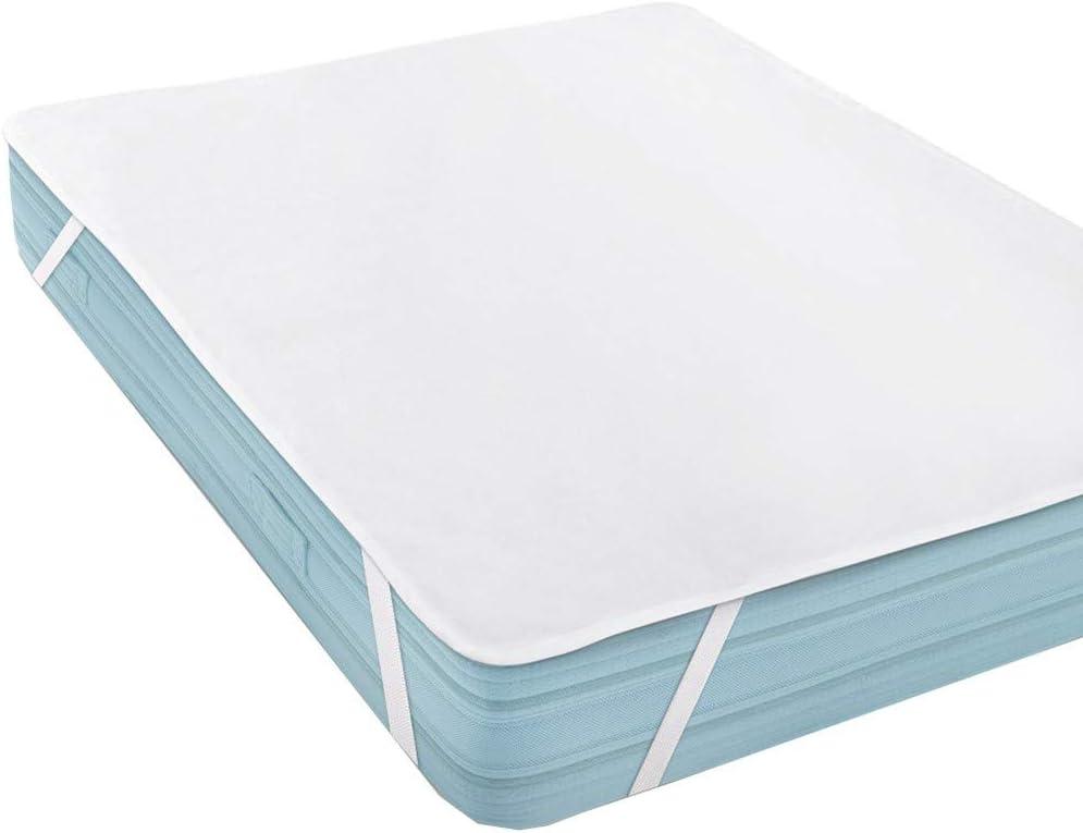 ❤Ywoow❤ ?? Waterproof Mattress Protector Waterproof Mattress Pad Pillow Cover 200 x 200 cm 514fd-aBmyL