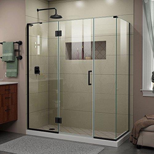 -09 Unicolor-X Shower Enclosure, Satin Black ()