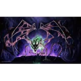 MTG Playmat Artists of Magic Premium - RISE OF THE DRACHOLICH Autographed by the Artist TYLER WALPOLE