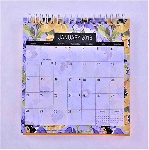 2018 Standing Desk Calendar (Yellow Flowers) Photo #2