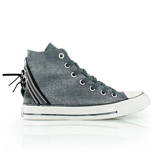 Converse CT Tri Zip Hi Grey Womens Trainers 7 US