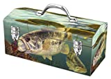 Sainty Art Works 24-701 A Pig, a Hog and a Log Art Deco Fishing Inspired Tool Box