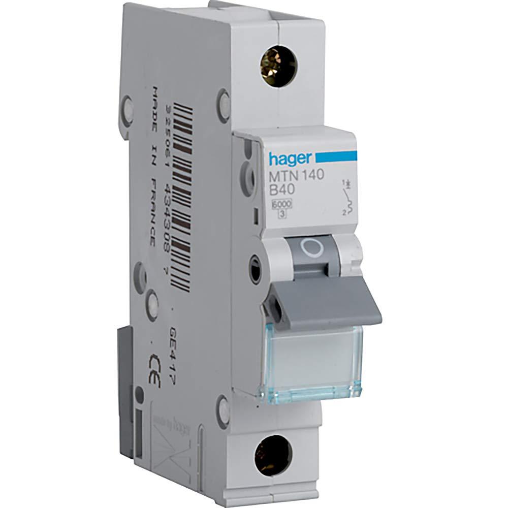 MCB 50amp Type B Loadstar Crabtree 6MSB50 Miniature Circuit Breaker