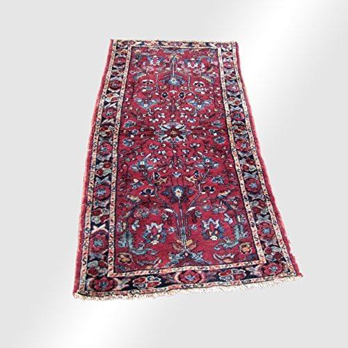 Antique Persian Hamadan Oriental Runner Rug rr3389