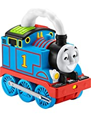 Thomas & Friends Storytime Thomas, Interactive Push-Along Train with Lights, Music and Stories for Toddlers and Preschool Kids Ages 2 Years and Older