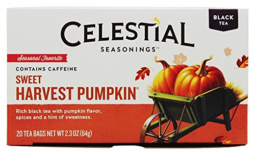 Celestial Seasonings Tea Black Sweet Harvest Pumpkin Holiday
