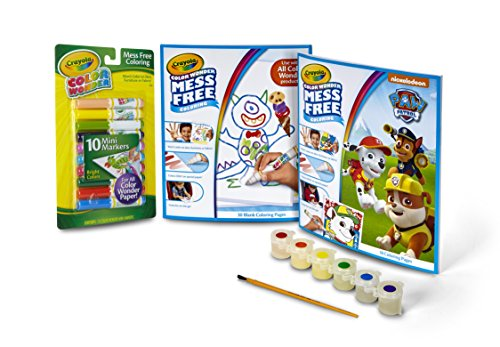 Color Wonder Paw Patrol Coloring Kit, Mess Free, No Mess Markers, Gift