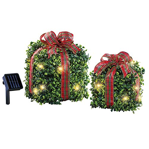 Outdoor Lighted Present Decorations in US - 3