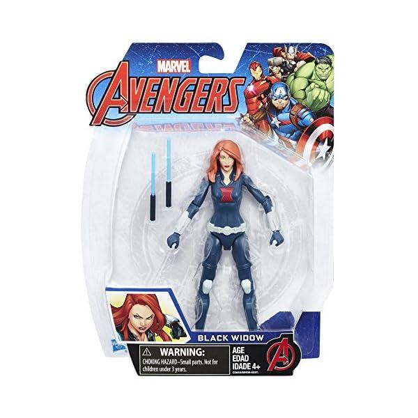 514ffhurkLL Marvel Avengers Black Widow 6-in Basic Action Figure