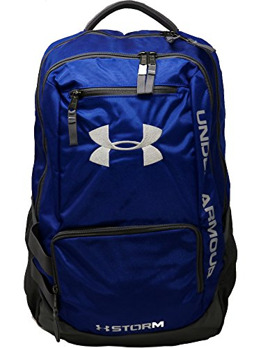 Under Armour Unisex Team Hustle Backpack, Royal (400)/Silver, One Size