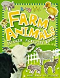 Busy Kids Farm Animals Sticker Activity Book, Chris Scollen, 1846106389