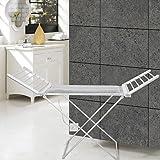 LI 120W Towel Warmer Aluminum Anodizing Drying Rack Free Standing , 110-120V