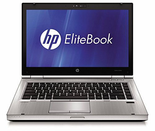 HP EliteBook 8460P 14-inch Notebook PC – Intel Core i5-2520M 2.5GHz 8GB 250GB Windows 10 Professional (Certified Refurbished)