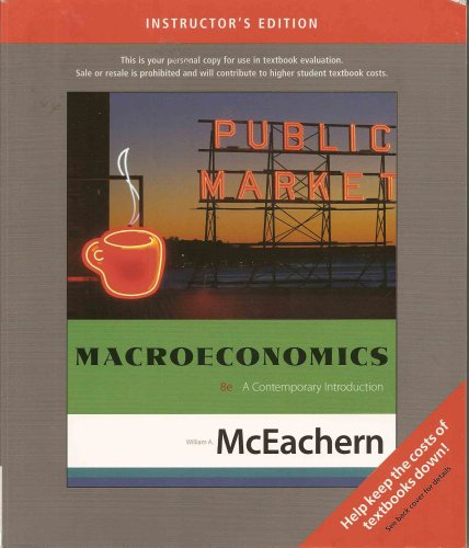 Macroeconomics: A Contemporary Introduction (Teacher's Edition)