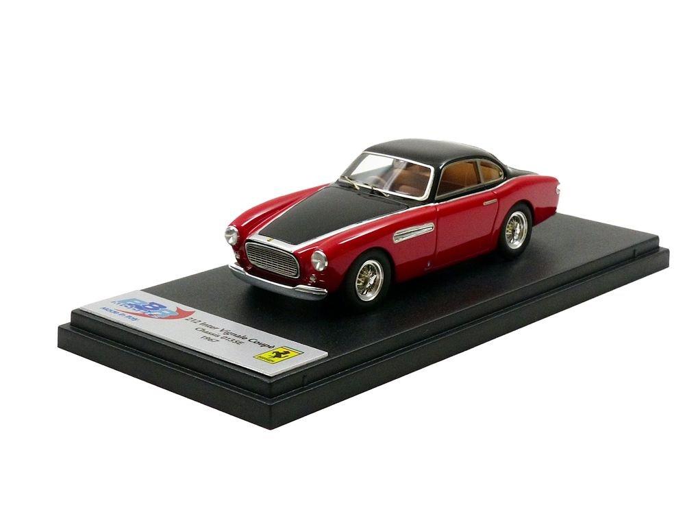 Unbekannt BBR – bbr190 C – Ferrari 212 Inter Vignale – Keilrahmen 0135e – 1962 – Maßstab 1/43 – Rot/Schwarz