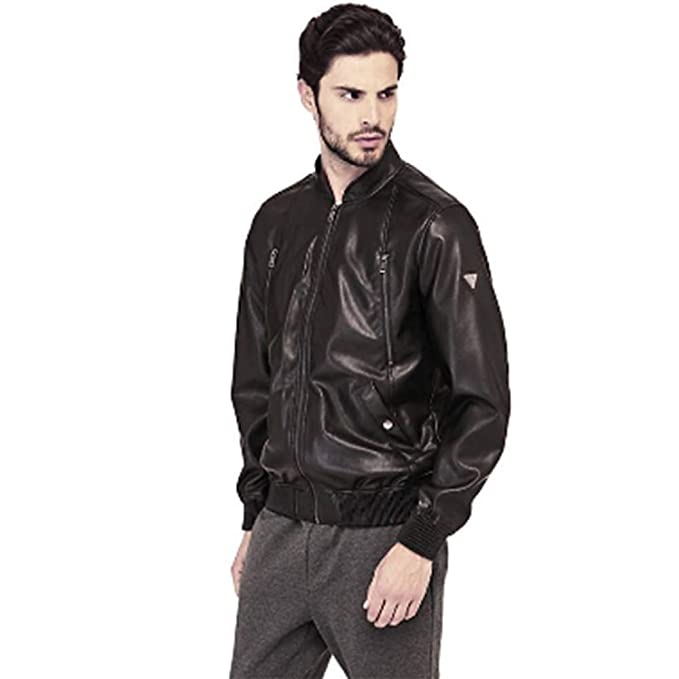 GUESS M81L06 W9IY0 Zipped Rider JKT Abrigos Y Chaquetas, Y ...
