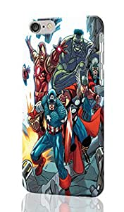 """The Avengers Personalized Diy Custom Unique 3D Rough Hard Case Cover Skin For iPhone 6 Plus 5.5"""" inches, Design By Graceworld"""