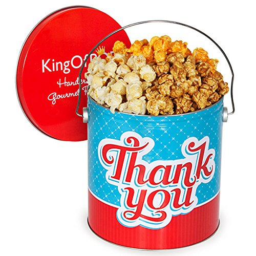 Thank You Popcorn Tin - People's Choice Mix