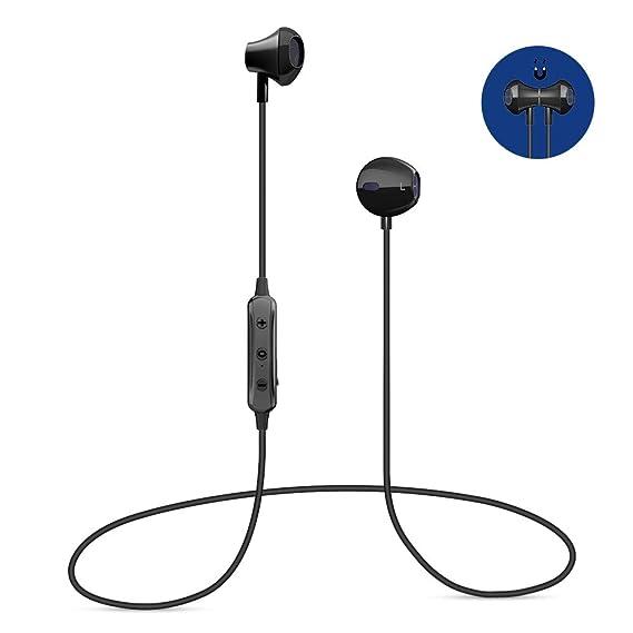 Auriculares Bluetooth 4.1, Auriculares inalámbricos Bluetooth con micrófono, Auriculares Estéreo con Cancelación de Ruido