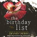 The Birthday List Hörbuch von Devney Perry Gesprochen von: Melissa Moran, Jeremy York