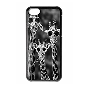 Giraffe Use Your Own Image Phone Case for Iphone 5C,customized case cover ygtg561034