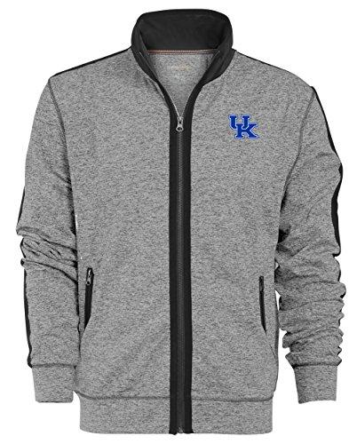 Kentucky Wildcats Jackets (NCAA Kentucky Wildcats Men's Premium Full Zip Track Jacket, Large, Gunpowder)