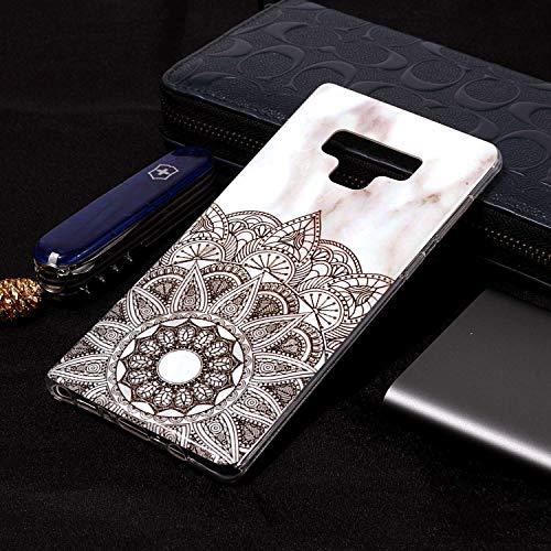 Housse Samsung Coque Le Slip Mate9 Galaxy Portable TPU et téléphone Anti Mince Datura étui dans Rigide inShang de matériel léger 9 Coque Ultra flowers Note étui Fait pour gdSqn4H