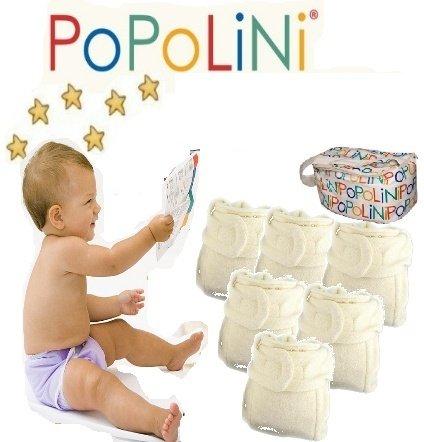 Popolini Panda - el de día o de noche-Set maxi juego completo - pañales