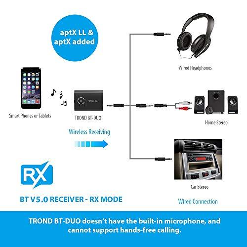 TROND Bluetooth V5.0 Transmitter Receiver image 4