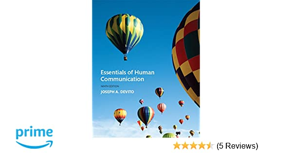 Essentials of human communication 9th edition 9780134184951 essentials of human communication 9th edition 9780134184951 communication books amazon fandeluxe Choice Image